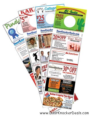 DoorKnockerDeals.com get coupons, discounts and deals, advertising in Ottawa
