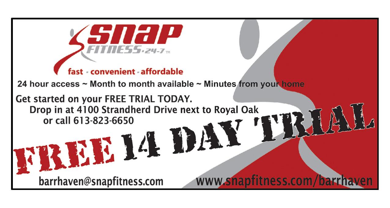 14 Day Free Trial At Snap Fitness Door Knocker Deals